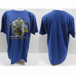 Transformers shirt Large Dinobots Grimlock Slag